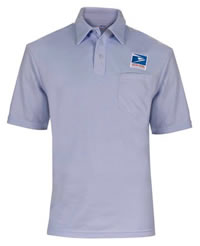 Men S Usps Letter Carrier Polo Knit Shirt