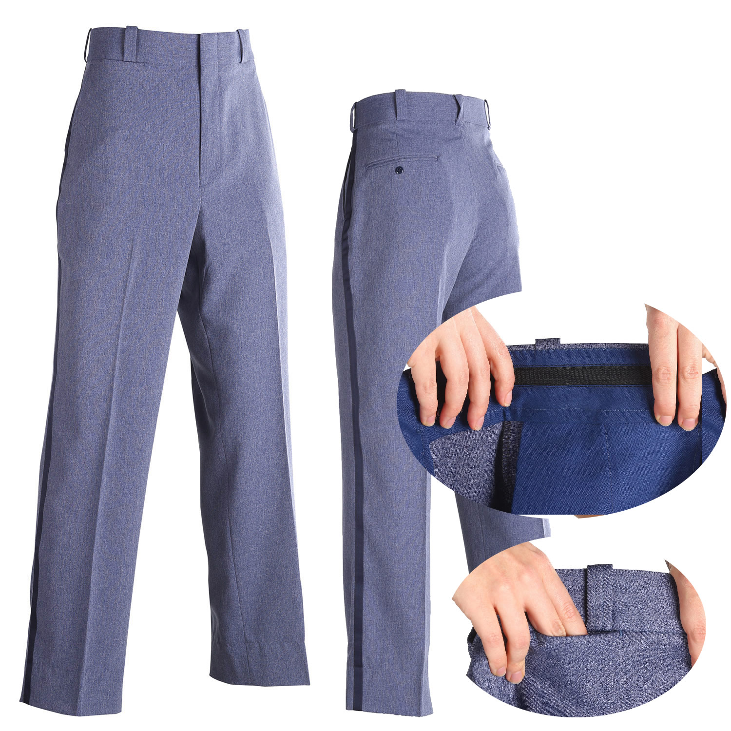 men 39 s postal uniform relaxed cut style winter weight trouser. Black Bedroom Furniture Sets. Home Design Ideas