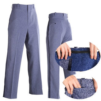 Men's Postal Uniform Relaxed Cut Style Winter-Weight Trouser