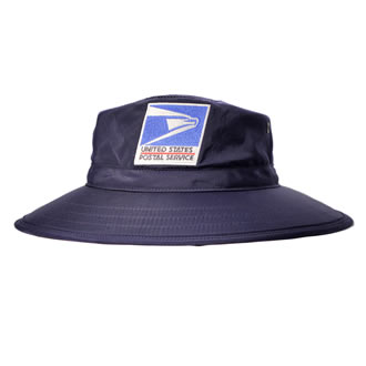 Postal Uniform Sun Hat for Letter Carriers