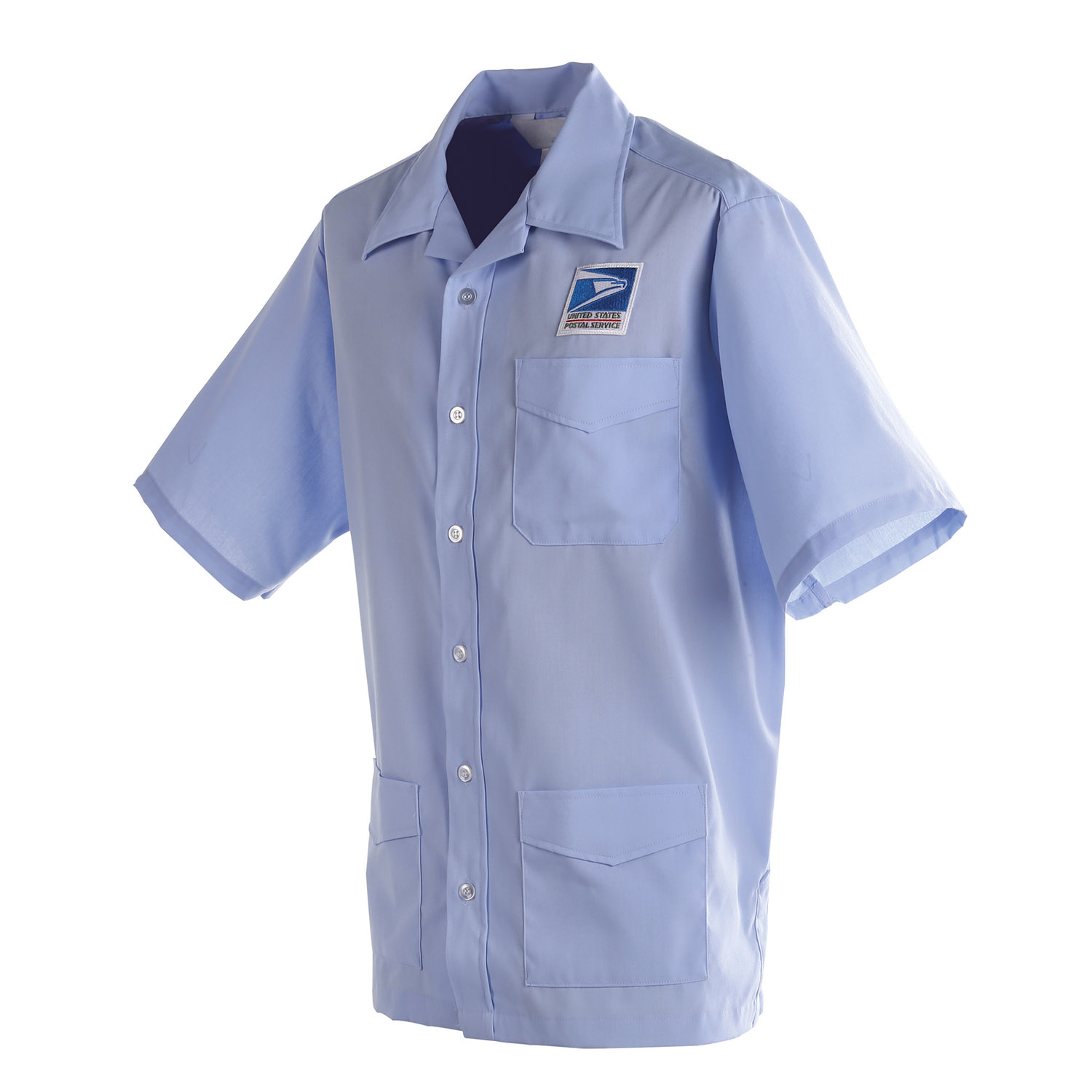 mens usps letter carrier authorized shirt jac