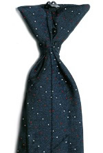 Men's Retail Clerk Navy Clip-On Tie